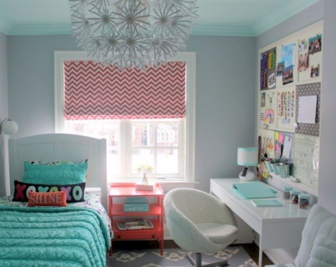 Impressive Bedroom Decoration Idea For Teen Style 01