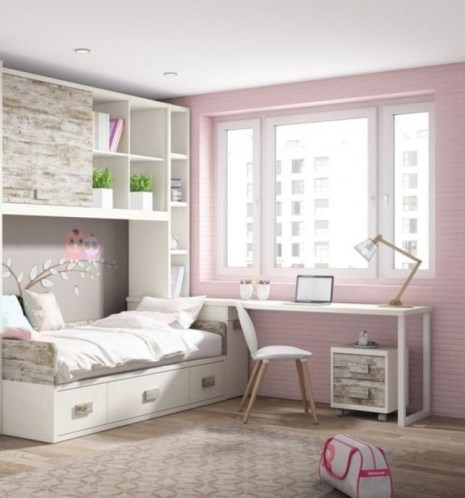 Impressive Bedroom Decoration Idea For Teen Style 08