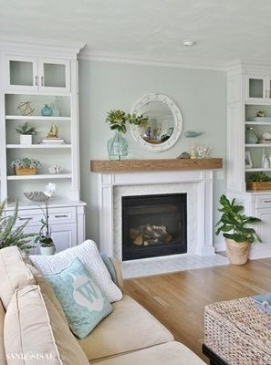 Spring Mantel Decorating Ideas For Fireplace In Living Room 07