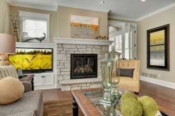 Spring Mantel Decorating Ideas For Fireplace In Living Room 13