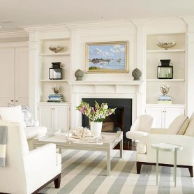 Spring Mantel Decorating Ideas For Fireplace In Living Room 30