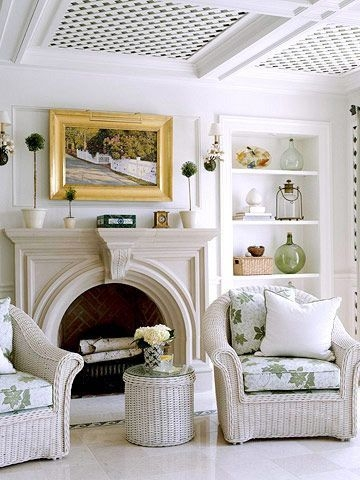 Spring Mantel Decorating Ideas For Fireplace In Living Room 33