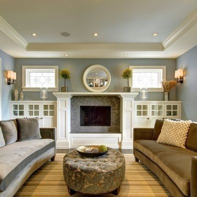 Spring Mantel Decorating Ideas For Fireplace In Living Room 35
