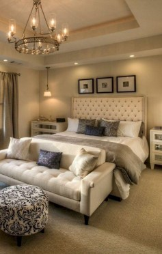 Stylish And Elegant Master Bedroom Idea For Your Family 15