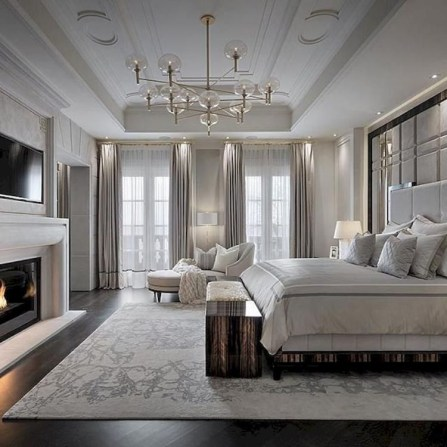 Stylish And Elegant Master Bedroom Idea For Your Family 25