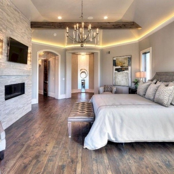 Stylish And Elegant Master Bedroom Idea For Your Family 30