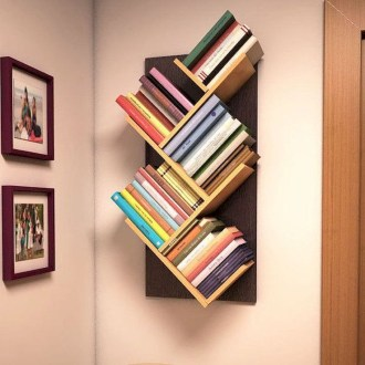 Amazing DIY Bookshelves You Can Do 12