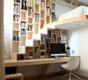 Amazing DIY Bookshelves You Can Do 19