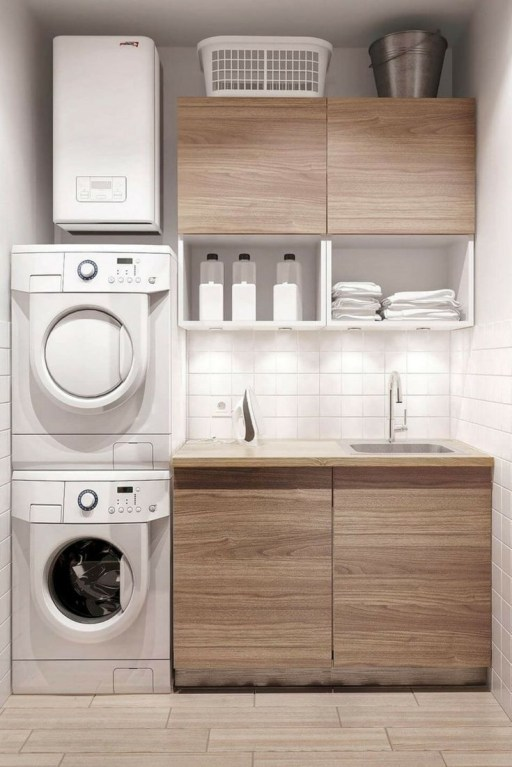 Amazing Small Laundry Room Design You Can Do 02