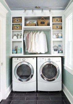 Amazing Small Laundry Room Design You Can Do 20