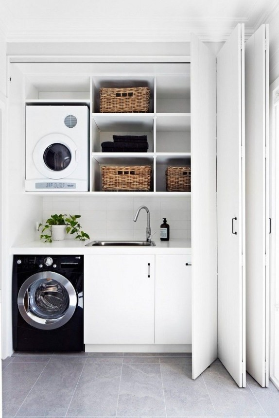 Amazing Small Laundry Room Design You Can Do 24