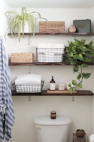 DIY Floating Shelves Bathroom Decor You Must Have 13