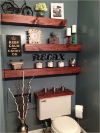 DIY Floating Shelves Bathroom Decor You Must Have 14