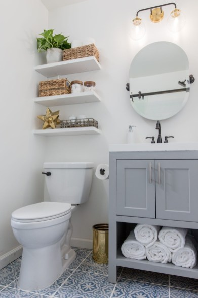 DIY Floating Shelves Bathroom Decor You Must Have 25