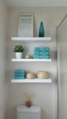 DIY Floating Shelves Bathroom Decor You Must Have 31
