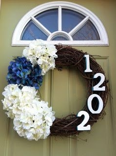 DIY Simple Spring Wreath For Your Door 32