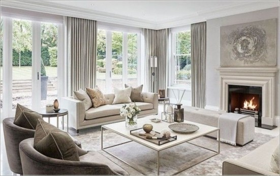 Elegant Living Room Decor You Can Try 28