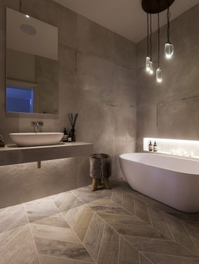 Elegant Modern Bathroom Design For Luxury Style 06