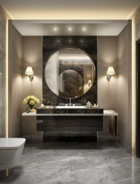 Elegant Modern Bathroom Design For Luxury Style 17