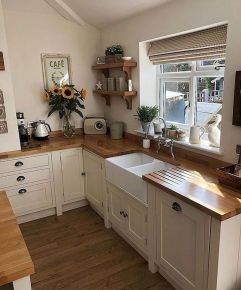 Genius Farmhouse Kitchen Decoration To Be Inspire 09