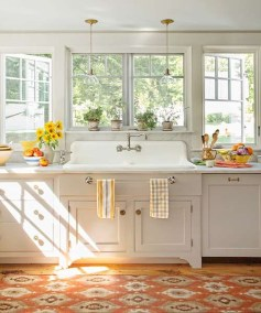 Genius Farmhouse Kitchen Decoration To Be Inspire 12