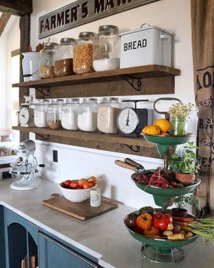 Genius Farmhouse Kitchen Decoration To Be Inspire 17