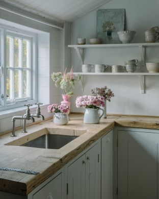 Genius Farmhouse Kitchen Decoration To Be Inspire 25