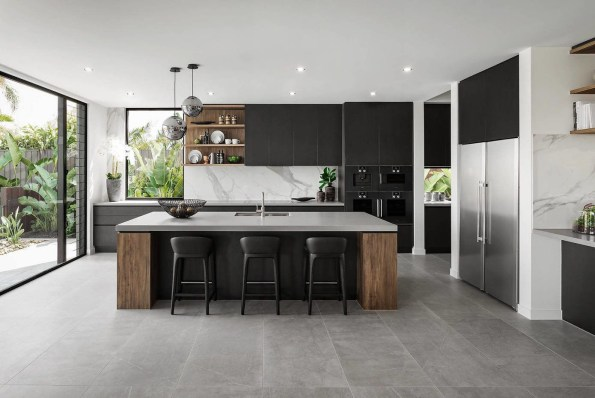 Great Inspiring Modern Kitchen Decoration You'll Love 32