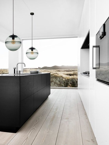 Great Inspiring Modern Kitchen Decoration You'll Love 40