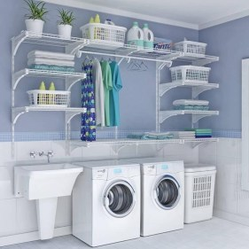 Incredible Storage Ideas For Your Small Laundry Room 21