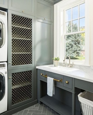 Most Inspirational For Your Laundry Room Decor This Year 08