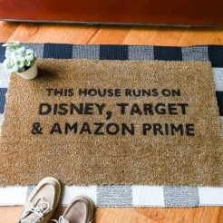 Tips Home Looks Unique With A Doormat Of Vinyl 13