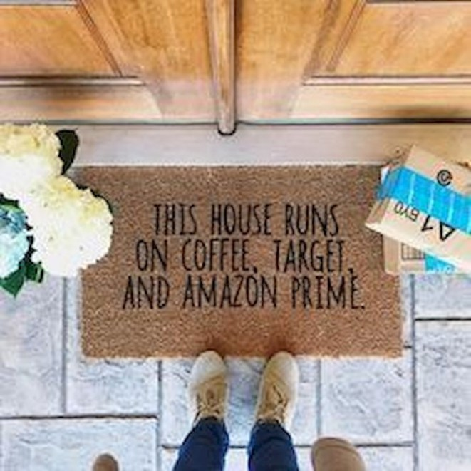 Tips Home Looks Unique With A Doormat Of Vinyl 19