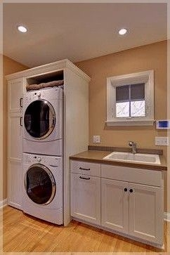 Ways To Make Small Laundry Room To Look Big Space 08
