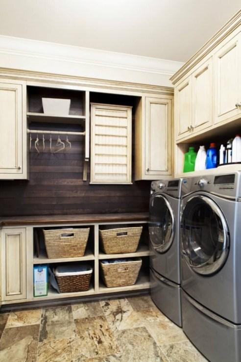 Ways To Make Small Laundry Room To Look Big Space 14