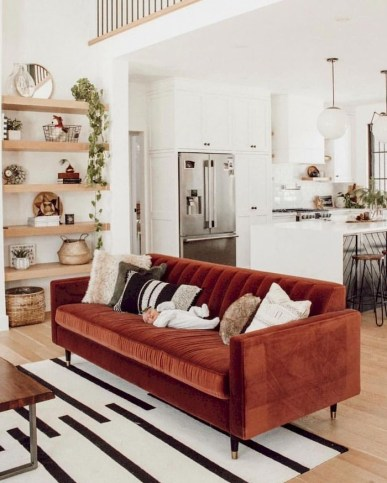 Amazing Small Living Room Decor Idea For Your First Apartment 07