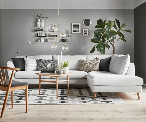 Amazing Small Living Room Decor Idea For Your First Apartment 09
