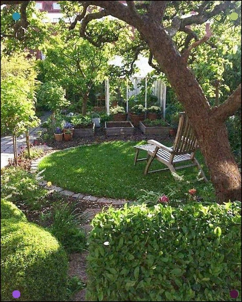Fabulous Small Area You Can Build In Your Garden 09