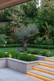Garden Decor Modern And Glamorous For A Big House 01