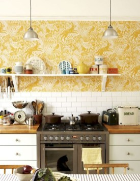 The Beautiful Botanical Wallpapers For Your Outdoor Kitchen Wall 17