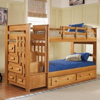 Amazing Double Bed For Teen College Bedroom 06
