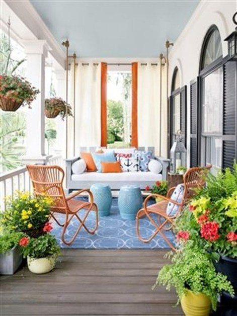 Awesome Summer Porch Decoration Ideas 16