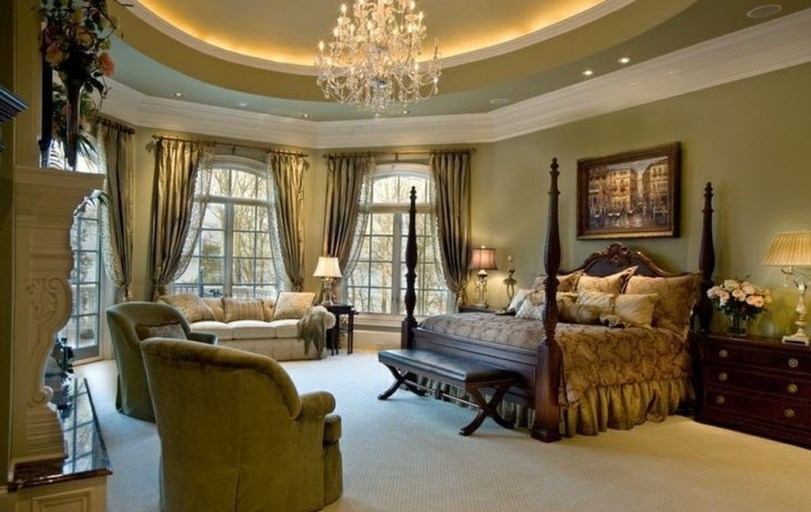 Elegant Furniture Idea For Master Bedroom 09