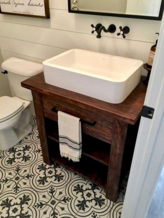 Industrial Farmhouse Bathroom Reveal 18