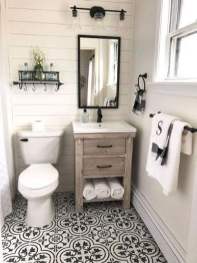 Industrial Farmhouse Bathroom Reveal 30