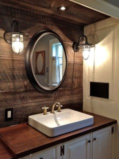 Industrial Farmhouse Bathroom Reveal 34