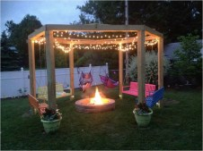 Amazing DIY Fire Pit Idea For Cold Day 04