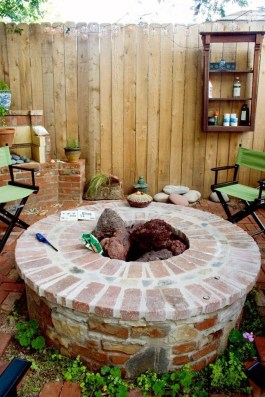 Amazing DIY Fire Pit Idea For Cold Day 07