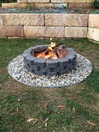 Amazing DIY Fire Pit Idea For Cold Day 32
