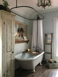 Amazing Farmhouse Bathroom Decor For Small Space 15